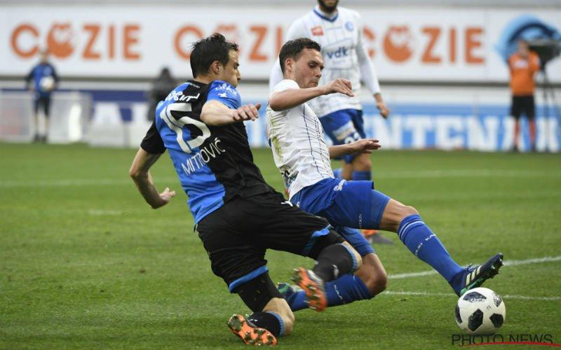 'Matej Mitrovic schept duidelijkheid over zijn toekomst bij Club Brugge'