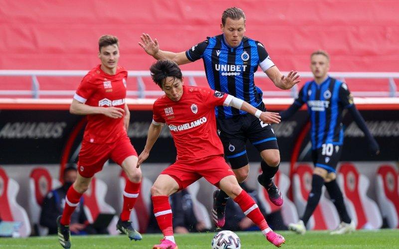 Antwerp en Club Brugge stellen teleur, status quo in play-offs
