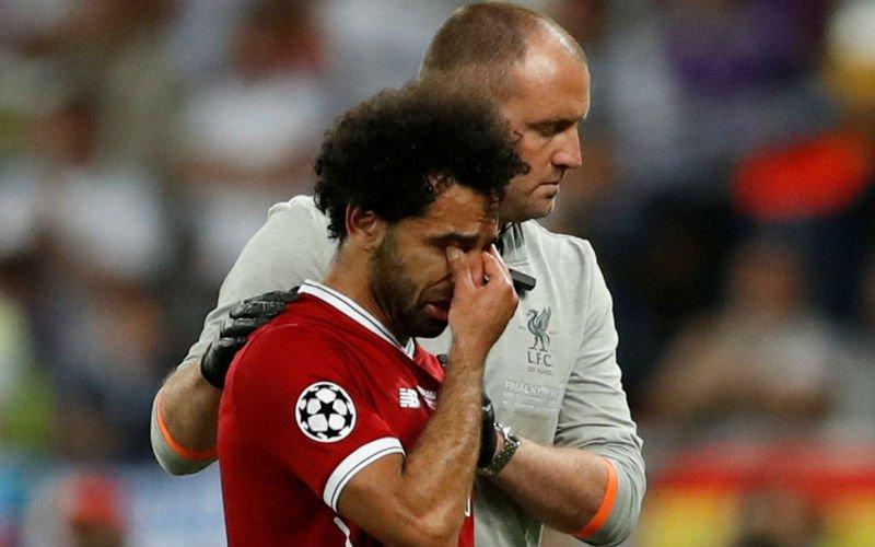 Mo Salah reageert voor het eerst zelf op zware blessure