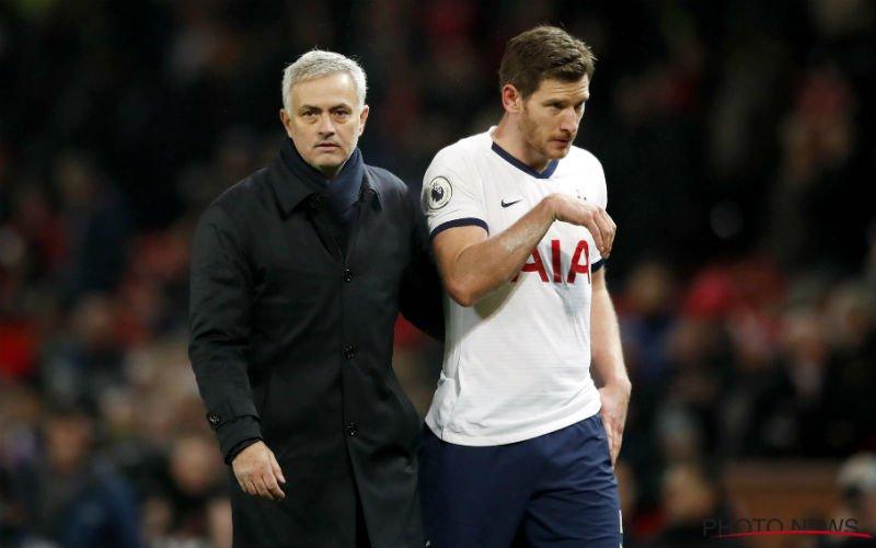 'José Mourinho zet Jan Vertonghen volledig voor schut bij Tottenham'