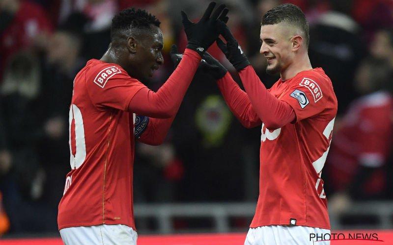 Uitblinker Lestienne schiet Standard voorbij Lokeren en naast Club Brugge