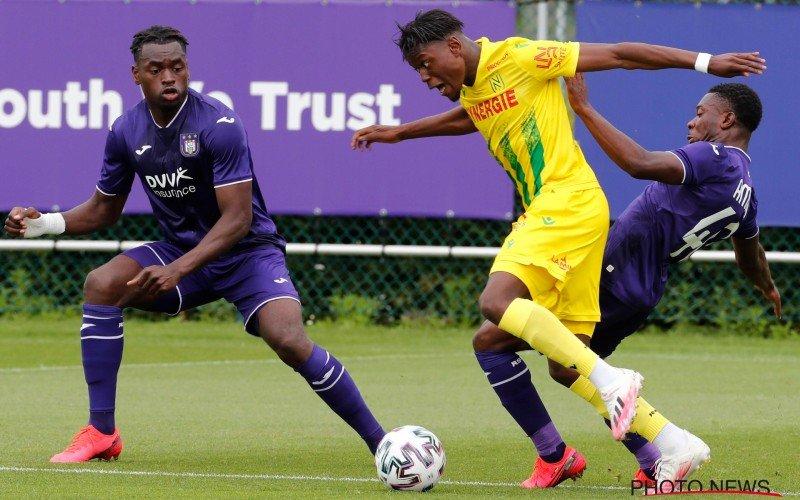 Anderlecht speelt 0-0-gelijk tegen FC Nantes na zoutloze partij