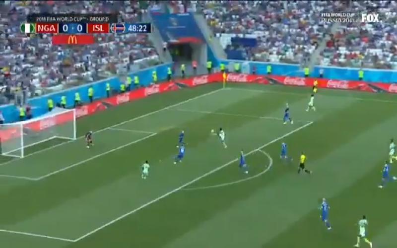Nigeria breekt de ban tegen IJsland met héérlijk doelpunt (Video)