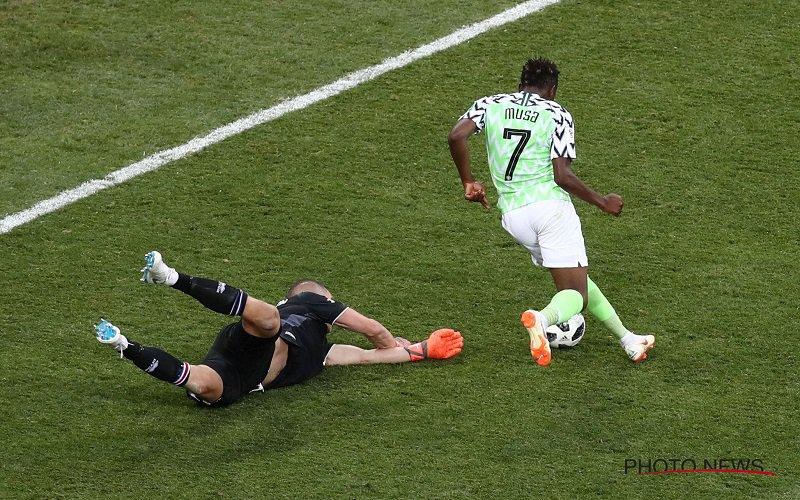 Nigeria wint van IJsland en maakt het zeer spannend in Groep D