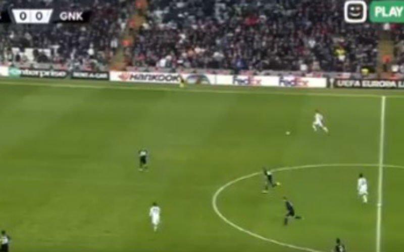 Genk scoort ongelofelijk doelpunt op Besiktas (VIDEO)