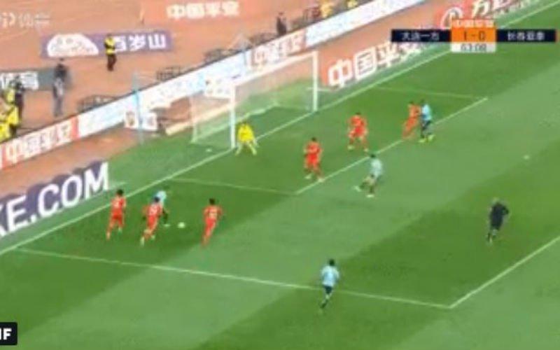 Carrasco verzekert zich van het behoud in China met magistrale goal (VIDEO)