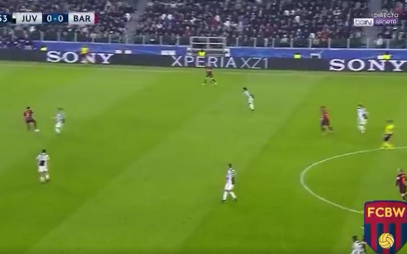 Busquets stuurt Dybala wandelen met deze héérlijke move (Video)