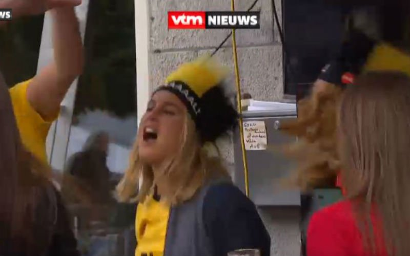 Kat Kerkhofs verliest het helemaal tijdens België-Panama (Video)