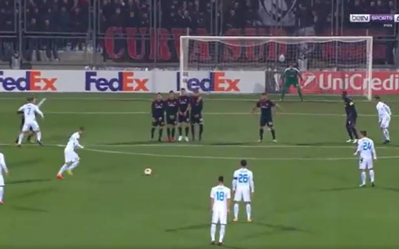 Alwéér drama voor Gattuso: AC Milan op achterstand in EL na deze geweldige goal (Video)
