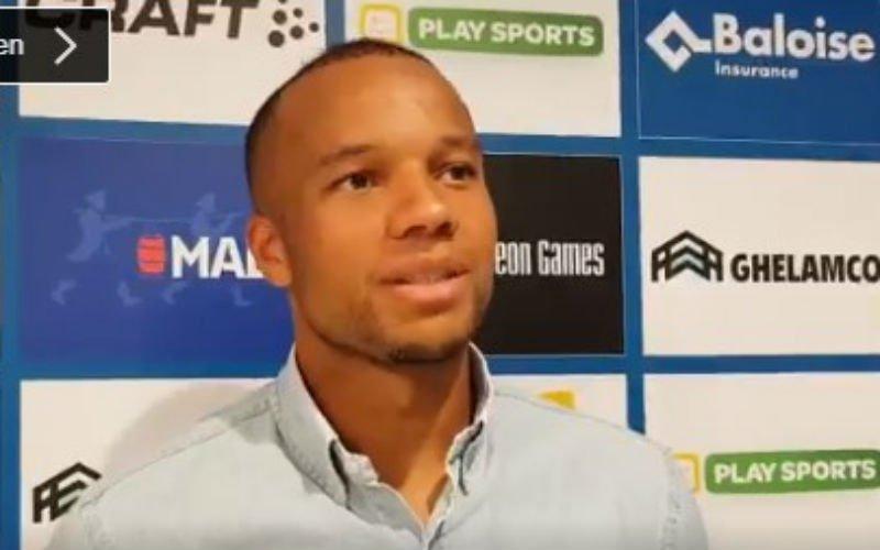 Vadis reageert voor het eerst op transfer naar Gent en spreekt ambities uit