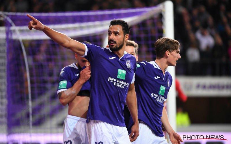 'Nacer Chadli in de problemen bij Anderlecht'