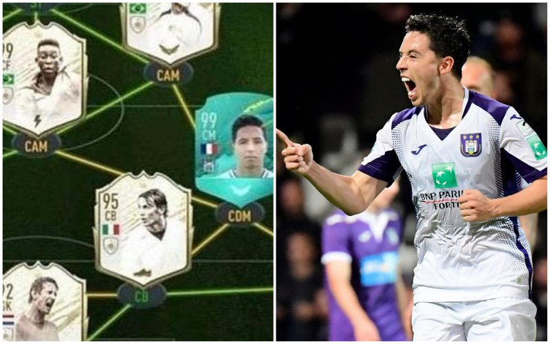 Wat?! Dit is Samir Nasri zijn waanzinnige ploeg in FIFA Ultimate Team