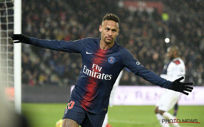 'Neymar gaat naar Manchester United verhuizen'
