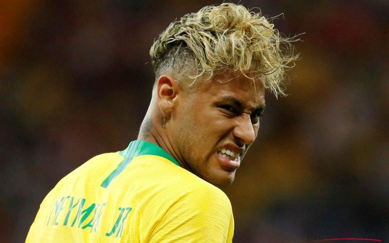 Neymar reageert fors: