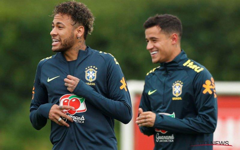 Neymar pakt net voor match tegen Zwitserland uit met vreemde haardos (Foto)