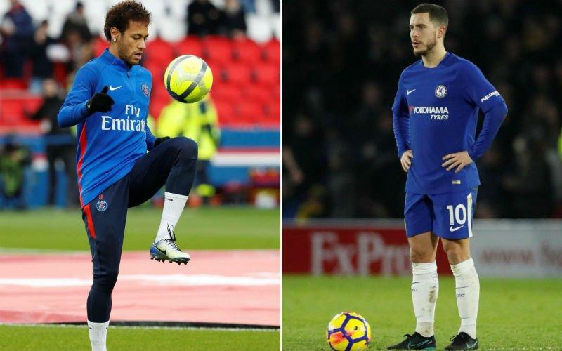 Neymar of Hazard? 'Real Madrid heeft de knoop doorgehakt'