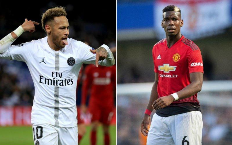 'Neymar en Pogba spelen volgend seizoen samen bij deze club'