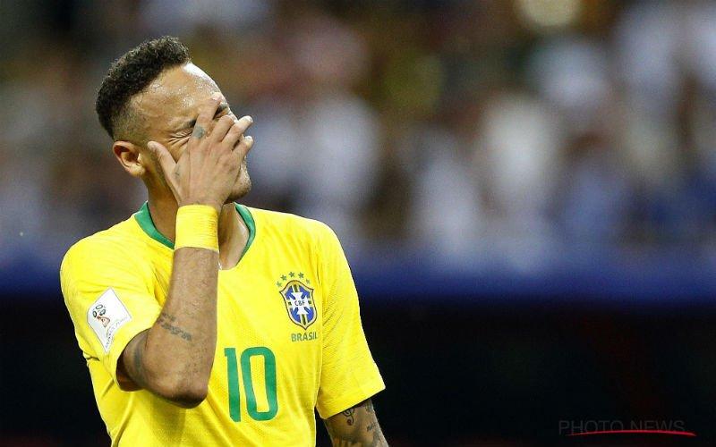 Drama voor Neymar vlak voor Copa America