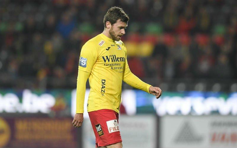 'Straf nieuws over KVO-speler Nicolas Lombaerts'