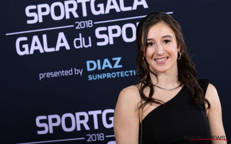 Turnster Nina Derwael maakt relatie met Belgische profvoetballer bekend