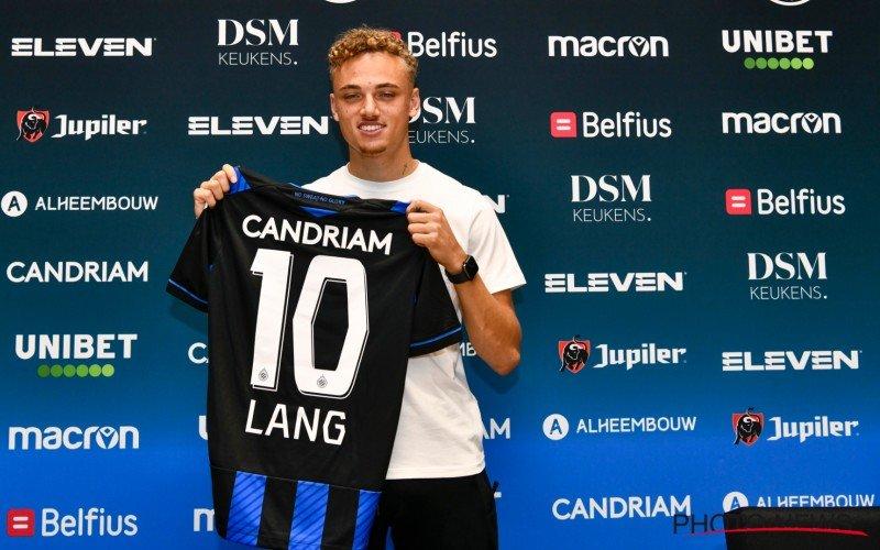 Meteen een probleem-Lang bij Club Brugge?