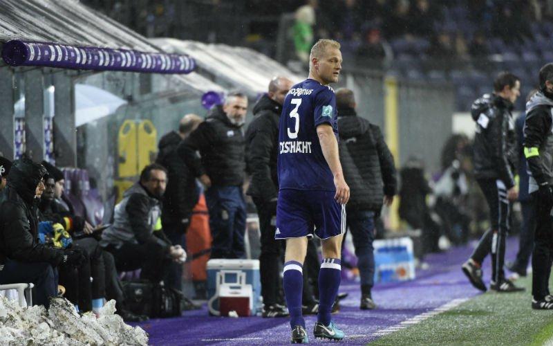 Anderlecht stuurt Deschacht naar B-kern