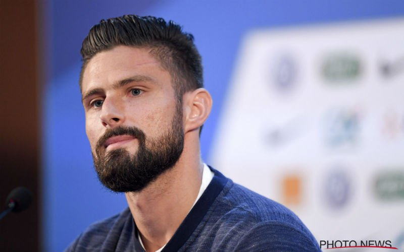 Courtois of Lloris? Olivier Giroud weet wie de beste doelman is