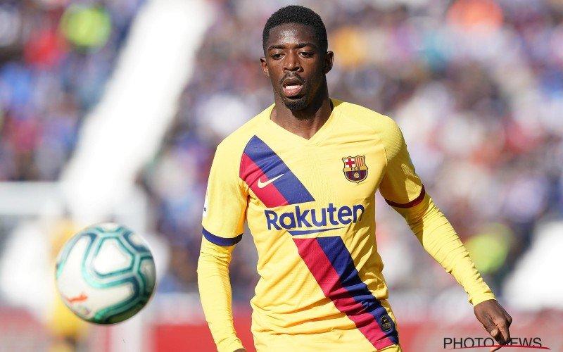 'Ousmane Dembele verlaat Barcelona voor deze Europese grootmacht'