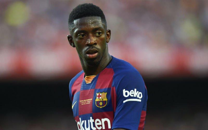 'Ousmane Dembele verlaat Barcelona en versiert straffe transfer'