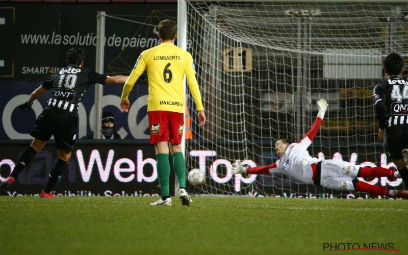 KV Oostende in extase na doelpunt in blessuretijd