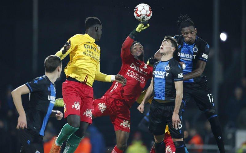 Mignolet redt Club Brugge in beker, AA Gent is uitgeschakeld