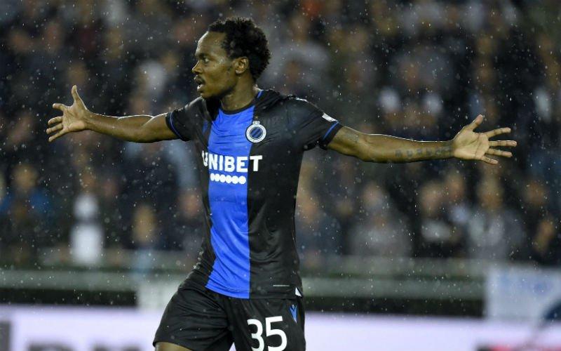 'Club Brugge verneemt slecht nieuws over Percy Tau'