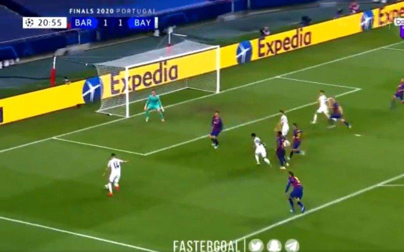Vlam! Ivan Perisic trapt Bayern voor een tweede op voorsprong tegen Barça