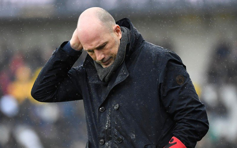Clement ging niet voluit tegen Man United: