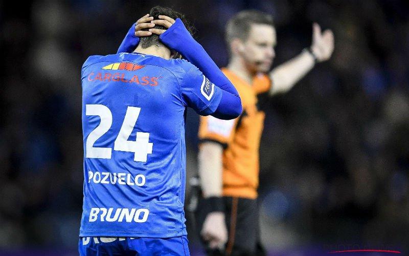 'Pozuelo speelt om deze reden géén afscheidsmatch meer bij Genk'