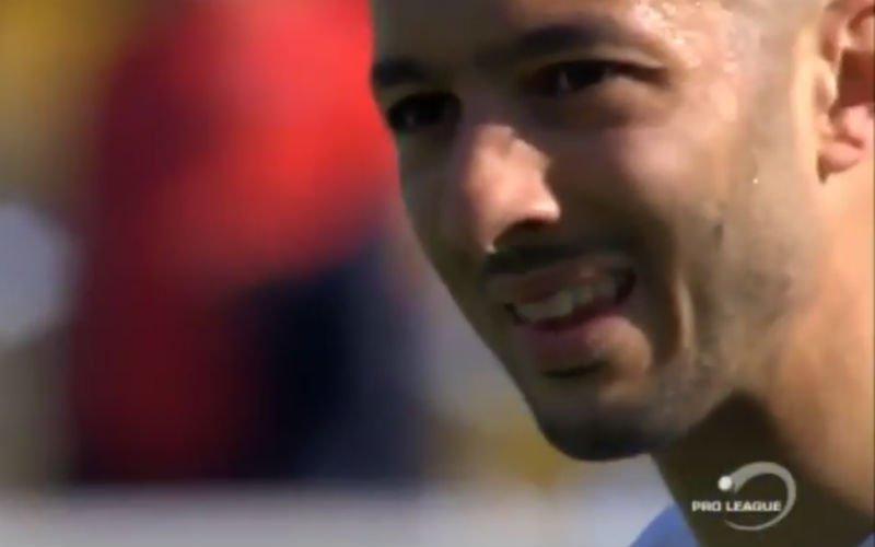 Neymar pikte idee vrije trap van... Sofiane Hanni (video)
