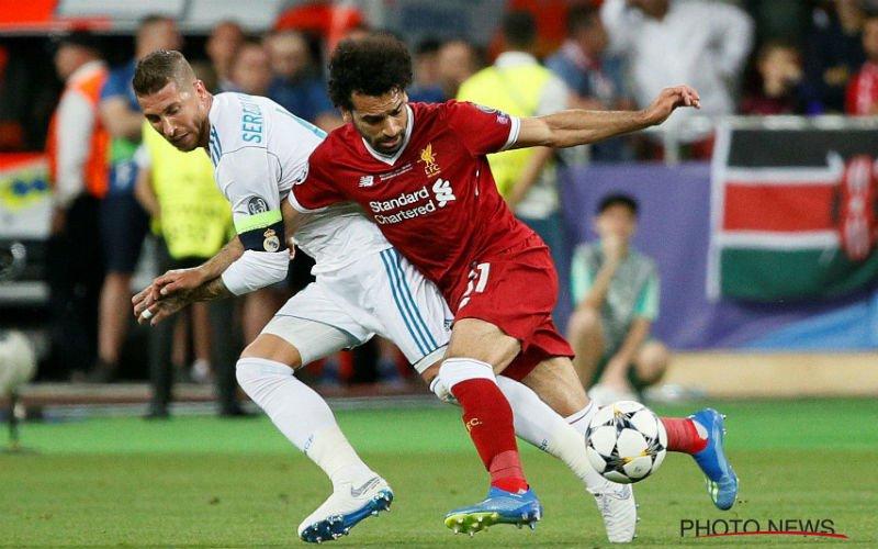 Zó reageert Sergio Ramos op blessure Mo Salah