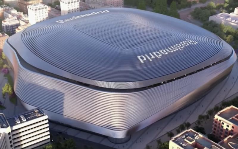Real Madrid stelt adembenemend nieuw stadion voor