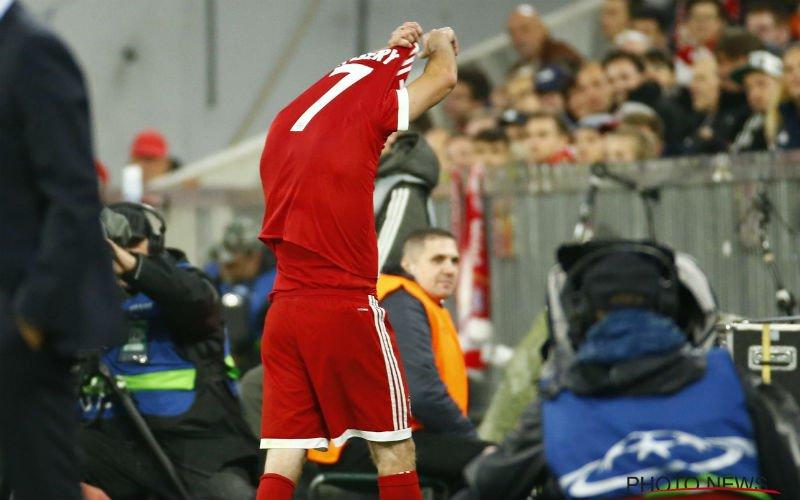 Ribéry reageert op incident tijdens de wedstrijd tegen Anderlecht