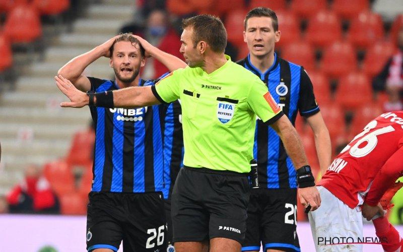 Rits schept duidelijkheid over discutabele penalty in Standard-Club Brugge