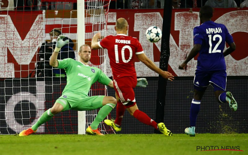 Robben wou Anderlecht