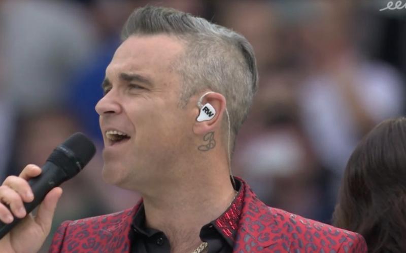 Iederéén heeft het over wat Robbie Williams deed tijdens openingsceremonie