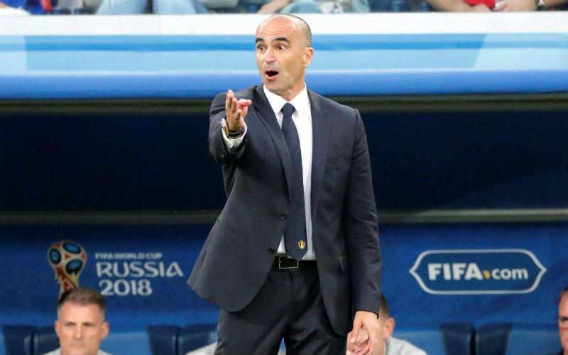 Ontgoochelde Martinez na Frankrijk-België: