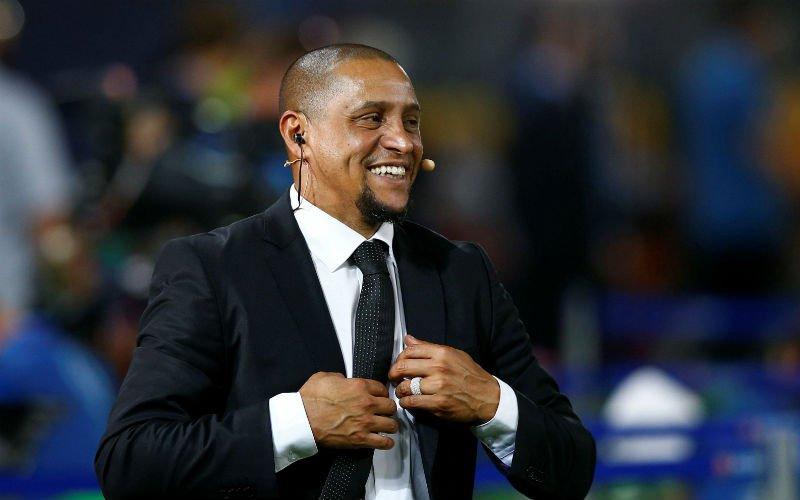 Roberto Carlos valt van zijn stoel na zien van Rode Duivel: