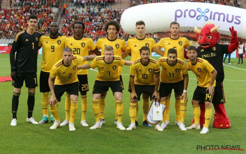 Belgische fans ergeren zich aan 2 Rode Duivels: