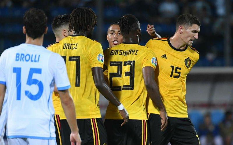 Win 10 keer je inzet als België wint in Schotland