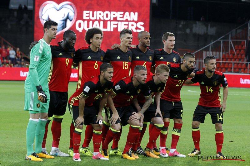 België stijgt op wereldranglijst FIFA en dat heeft gevolgen voor het WK