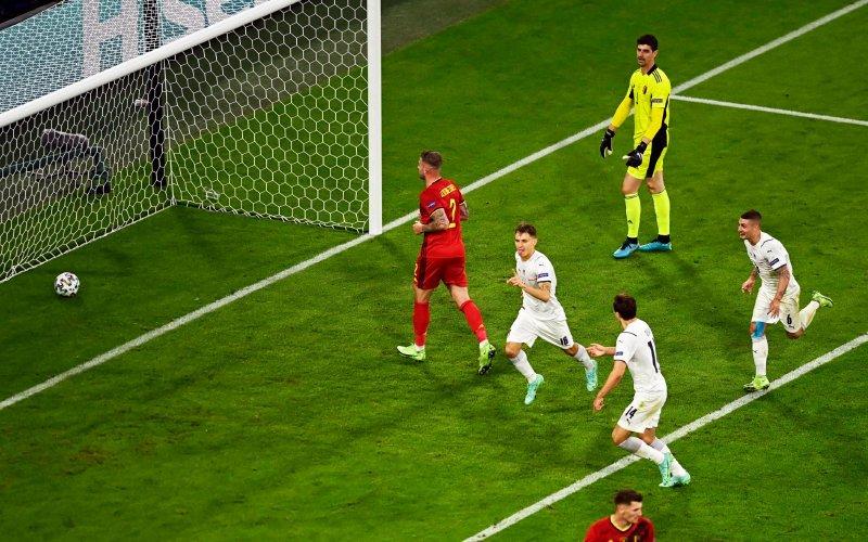 Eén Rode Duivel afgemaakt na goal Italië: