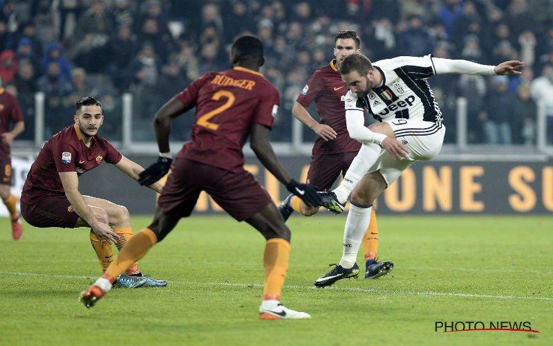Nainggolan kan winst van Juventus in topper niet verijdelen