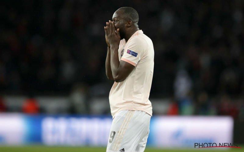 'Manchester United laat Romelu Lukaku vertrekken'
